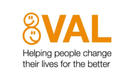 VAL logo with strapline
